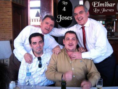 Felicidades a 4 Joses