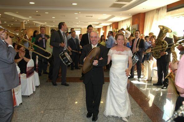 Enhorabuena, Xavi y Conxa