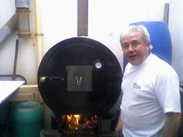 El horno tipo bidón de Ramón
