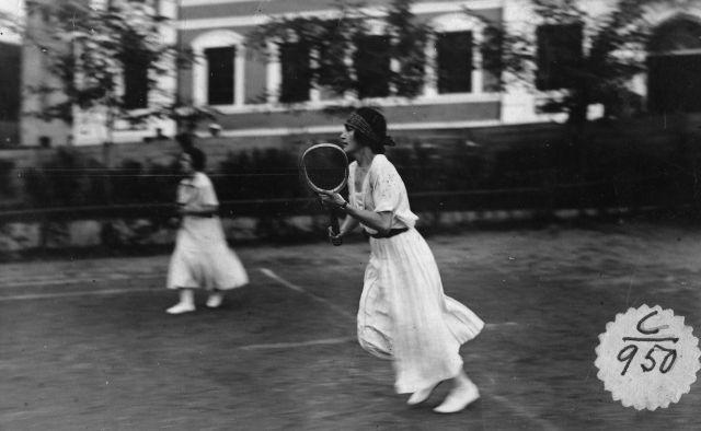 Fotos antiguas de tenis