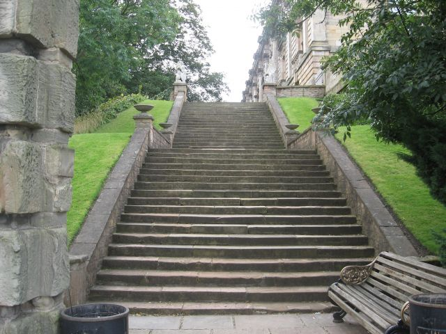 Escaleras en Nottingham
