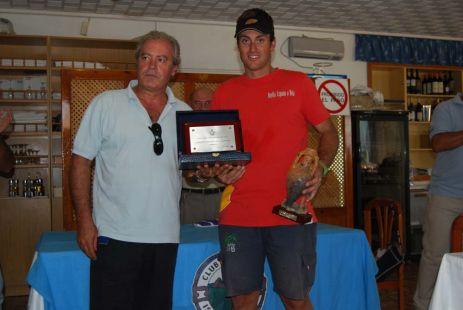 Diego Fructuoso, Campeón de España de FINN
