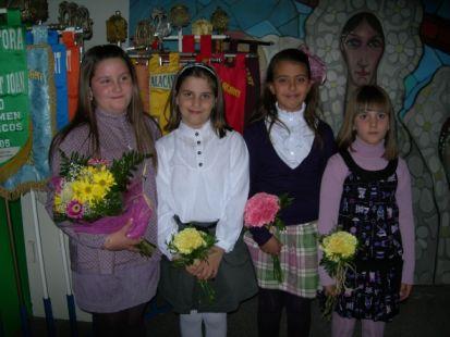 presentacion belleza y damas de la hoguera la florida