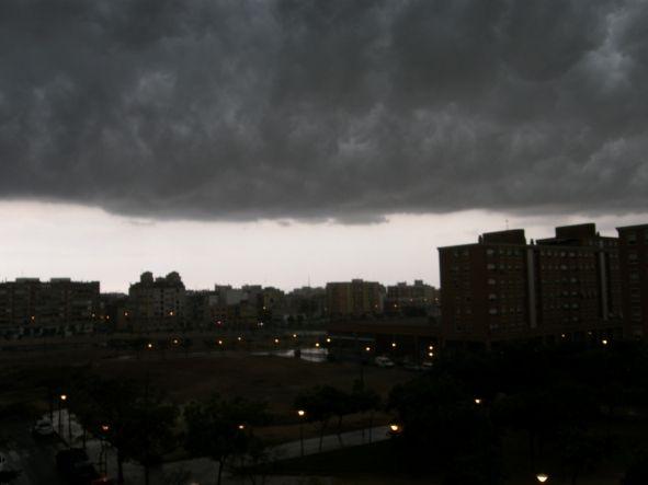 Tormenta en Alicante