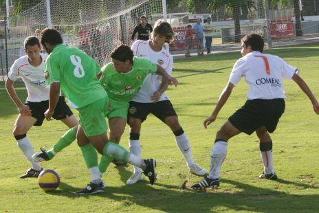 Fútbol Juvenil Valencia vs Murcia