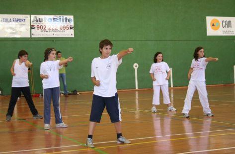 Practicando Wushu