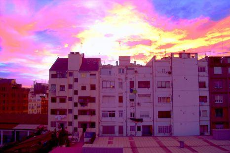 Anochecer en Ruzafa