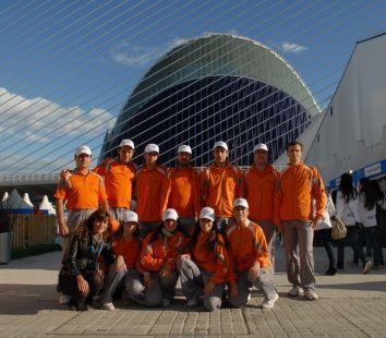 Voluntarios del Open