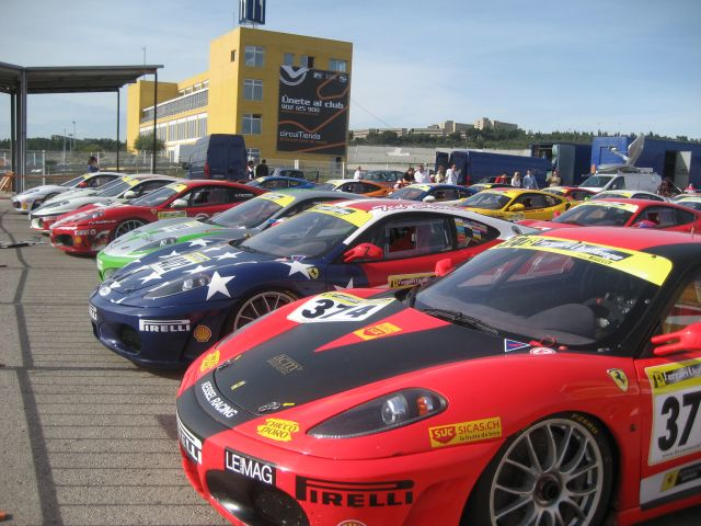 Fiesta de Ferraris.