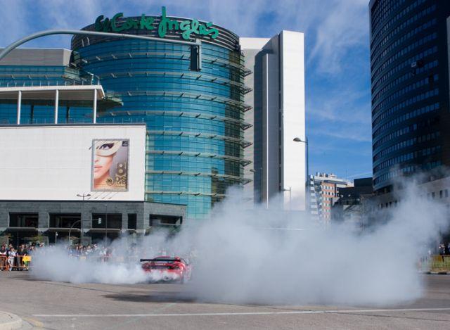 Ferrari en las calles de Valencia