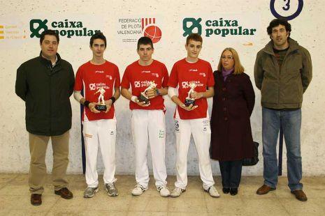 Beniparrell campeón de la Liga Cadete