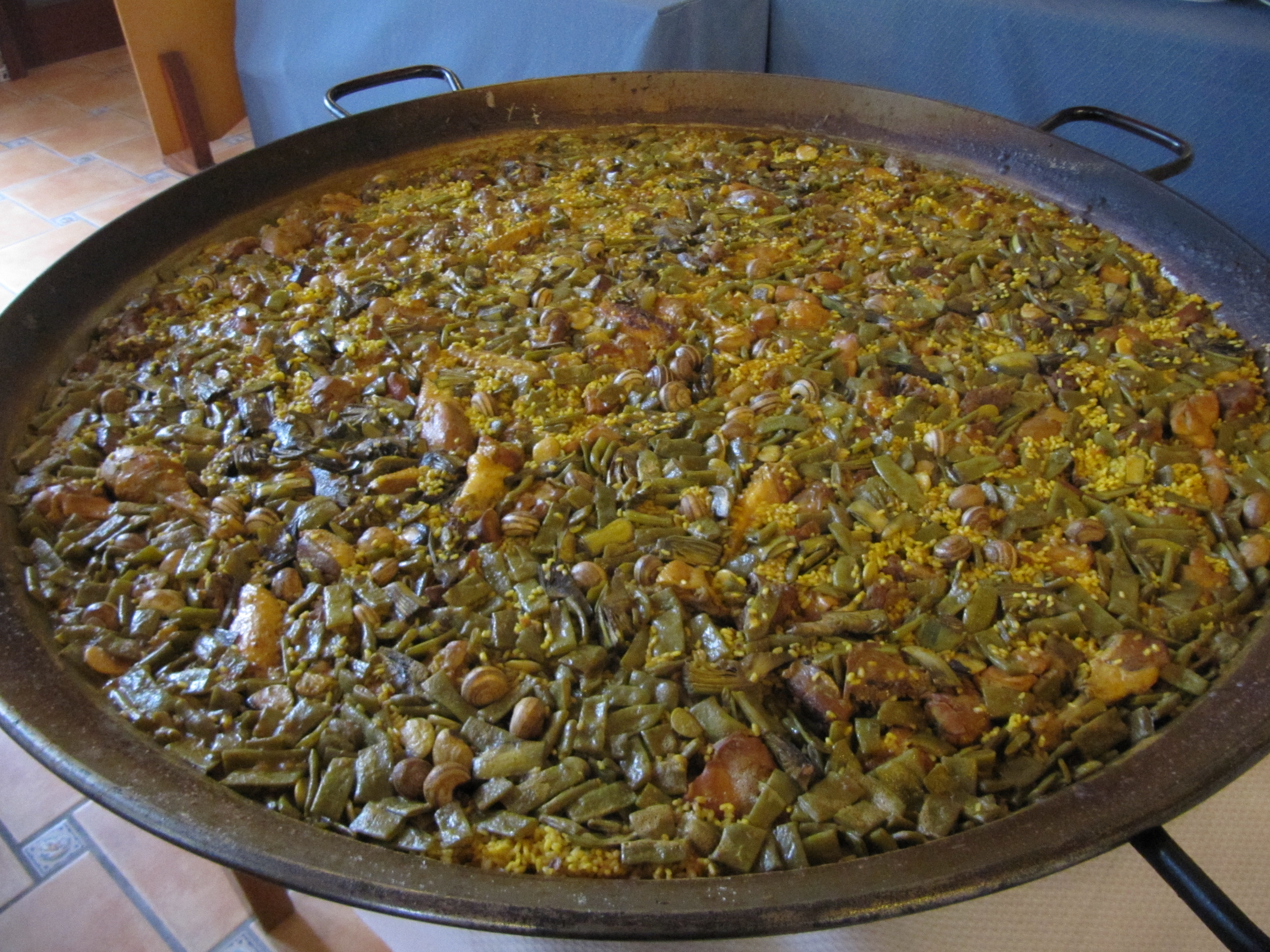 Authentic Paella Valenciana Recipes — Dishmaps