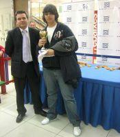3º Clasificado- Fernando Grande Gonzáles del Club San Pedro Pascual