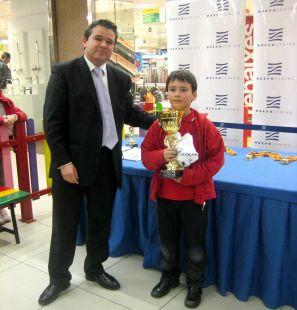 1º Clasificado- José López Palomar del Club Agustinos