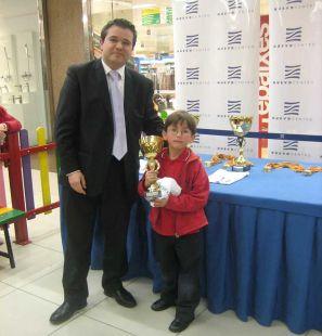 2º Clasificado- David López Palomar del Club Agustinos