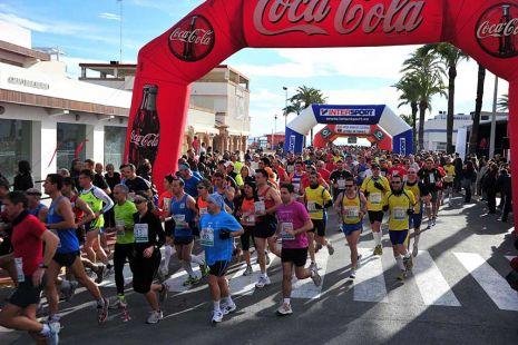Media Maratón Costera en la Pobla de Farnals