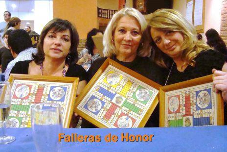 Falleras de Honor