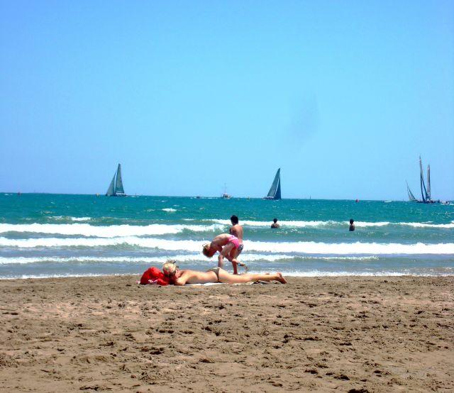 Playa, Malvarrosa