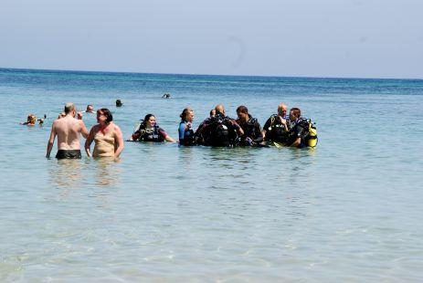 Tertulia, en el mar