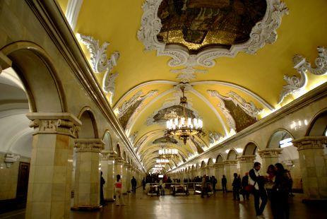 Mosc�, Metro