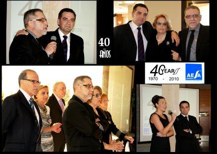 AESA, 40 Aniversario