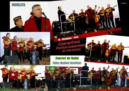 Cuarentuna, y Union Musical Godelleta