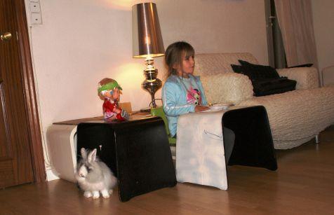 Bimba, con Zoe