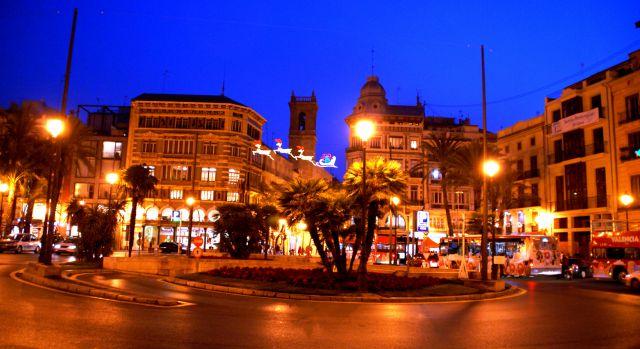 Valencia, de noche