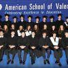 Graduación de 12º en el American School of Valencia