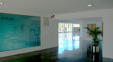 Palau, contraluz