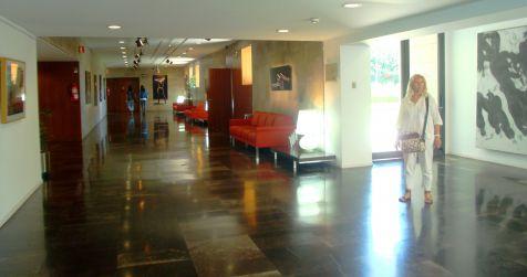 Palau, sala de exposiciones