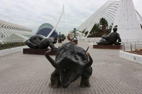 El Paseo de las Esculturas