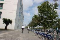 Pasando del carril Bici
