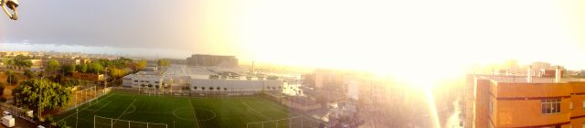 tormenta y sol