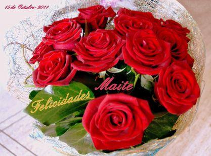 Maite, Felicidades, Santo y Cumpleaños