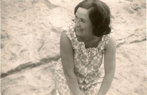 Una sonrisa preciosa, es mi madre.
