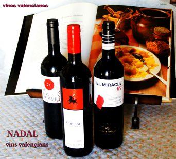 Nadal, amb vins valencians