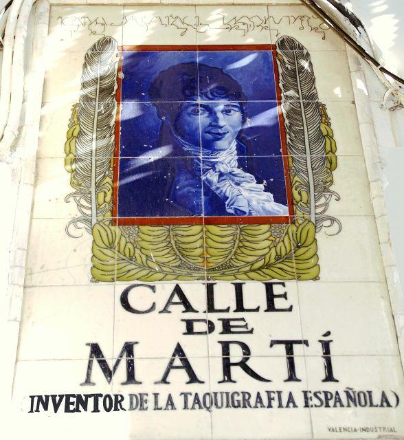 Calle de Martí