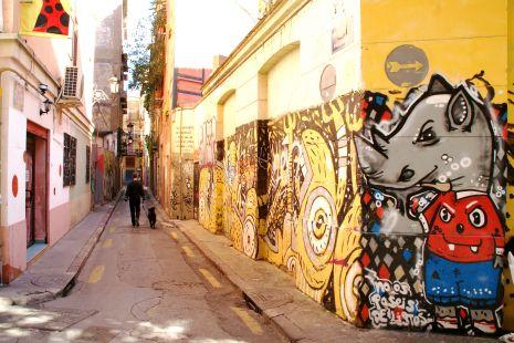 Callejeando, grafiiti