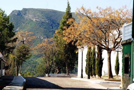 Chulilla, paraje de la Ermita