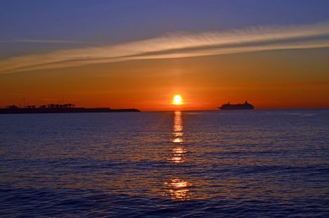 Valencia amanece