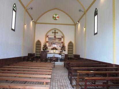 Interior Ermita dels Peixets