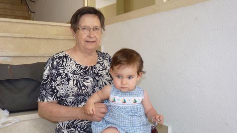 Con mi Abuela Carmen