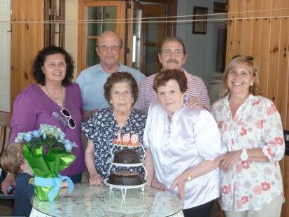 100 años De Amparo Fuster Ramón