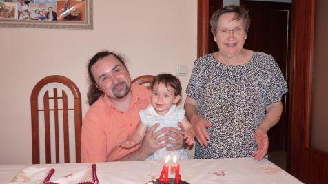 47 años y tres generaciones juntas
