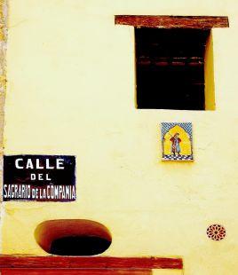 Calle Sagrario de la Compañia
