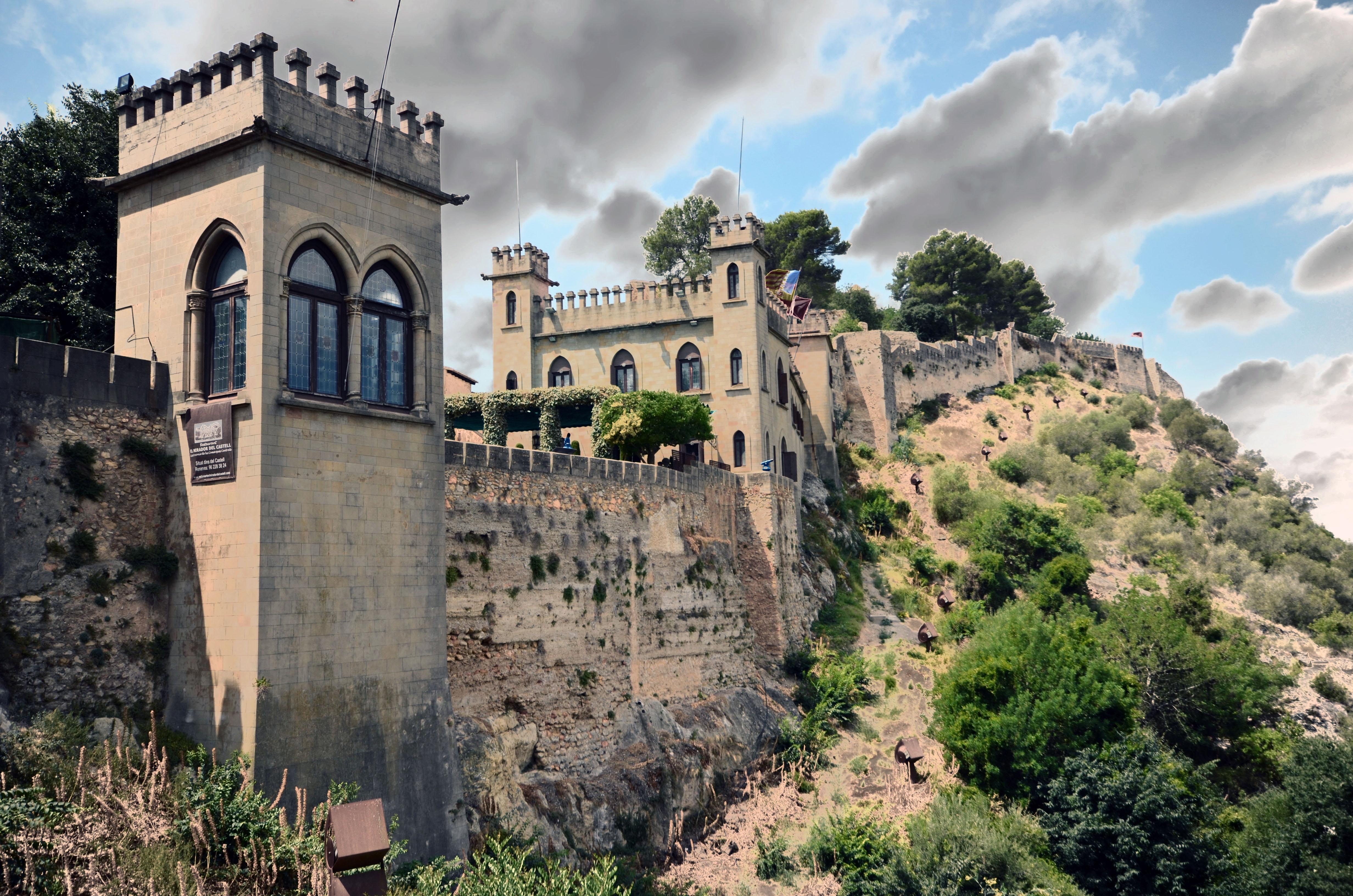 Castillo de xativa  fotos de Concursos.es