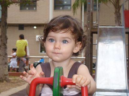 Rocío,mi hija.