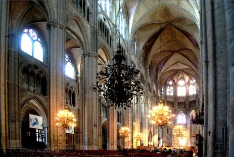Catedral de Bourges, Francia