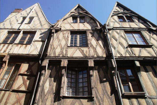 Bourges, Francia, Centro histórico